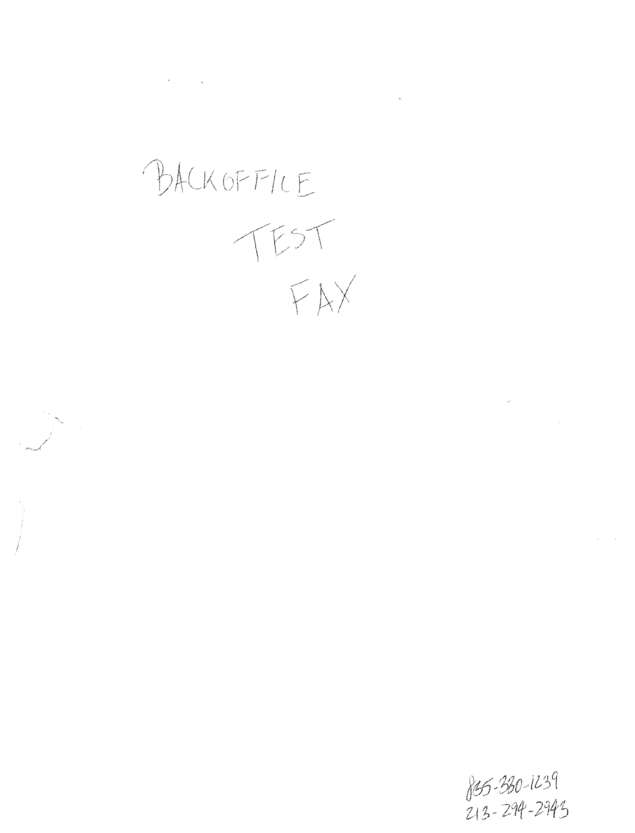 fax page